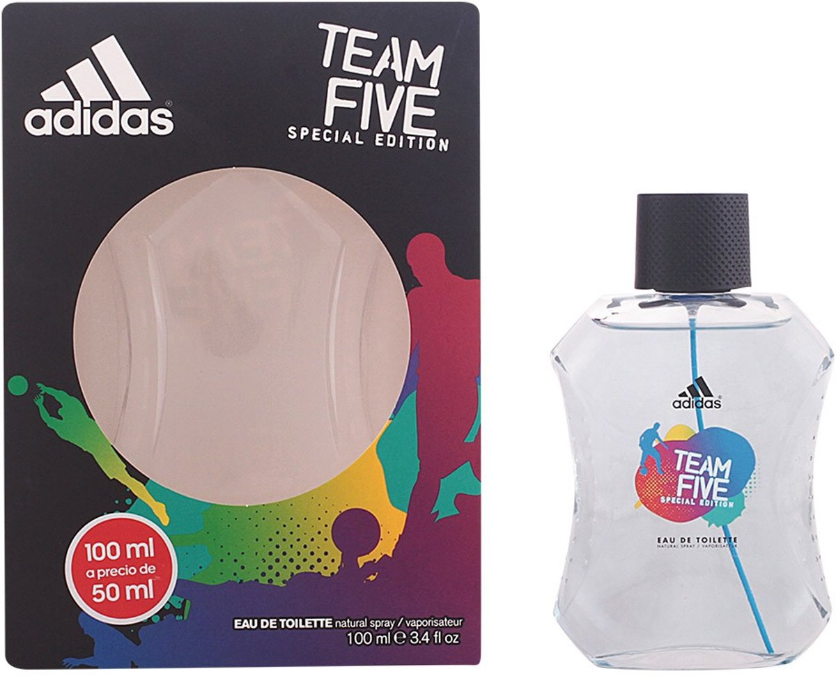 Adidas TROPHY TEAM FIVE eau de toilette spray 100 ml