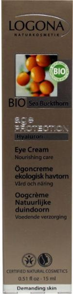 Age protect oogcreme duindoornbes