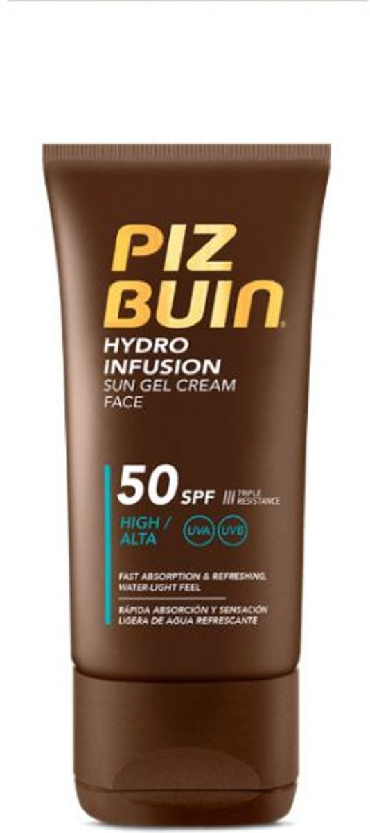 Piz Buin HYDRO INFUSION sun gel cream face SPF50 150 ml
