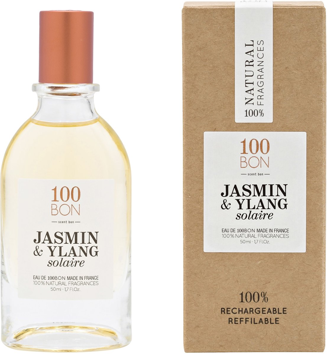 100BON EDT Jasmin & Ylang Solaire - 50ml