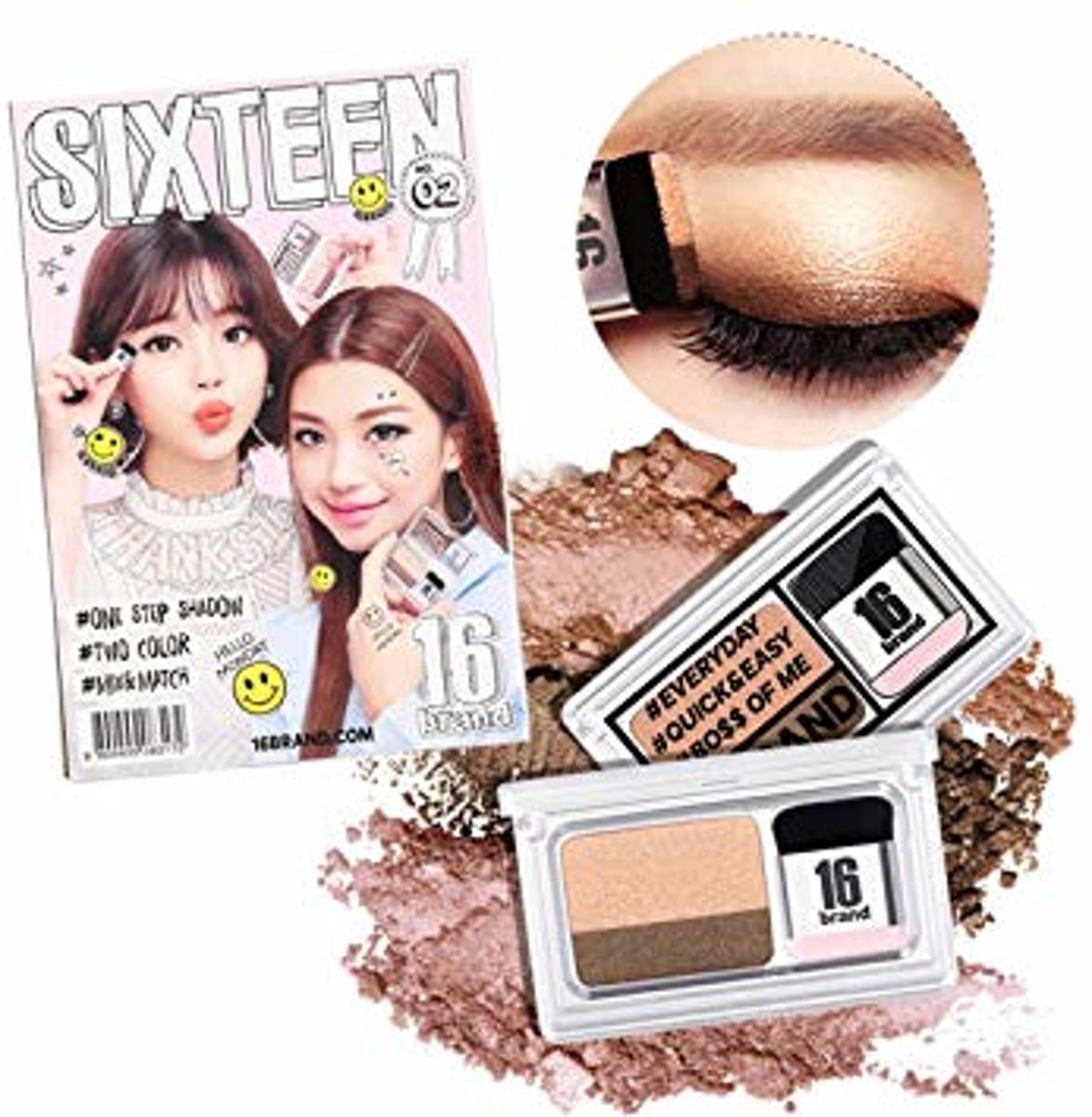 16BRAND Eye Magazine Dubble Eyeshadow