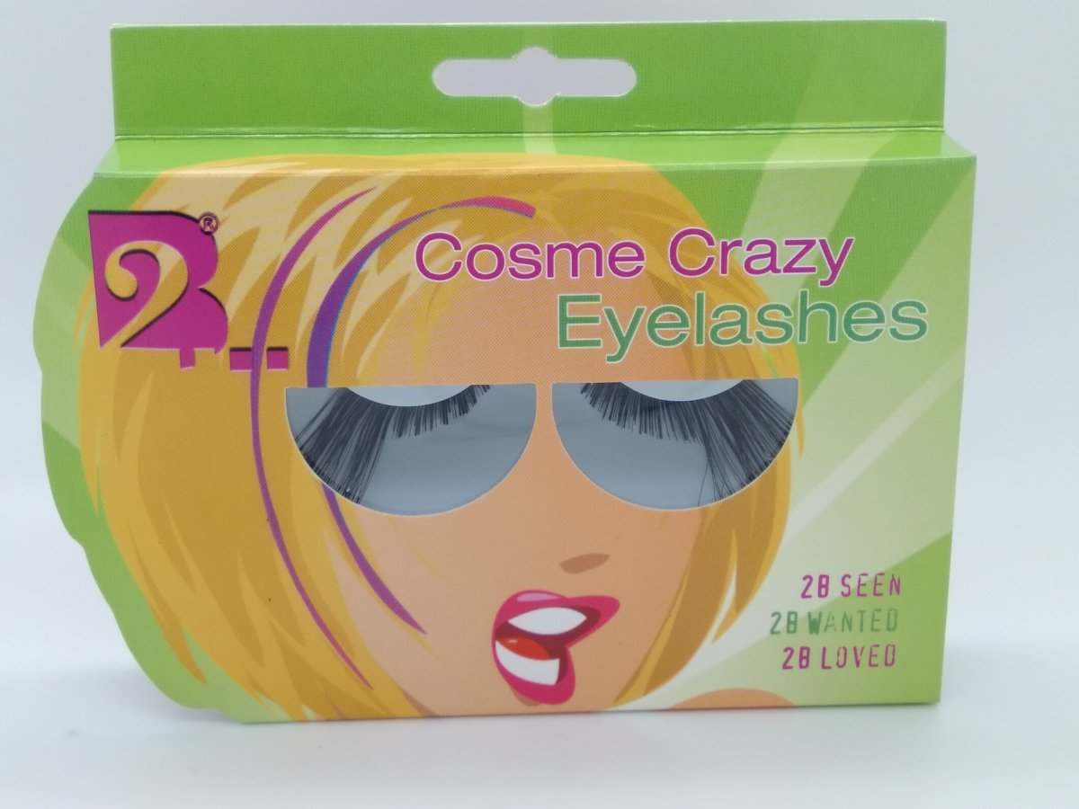 2B COSME CRAZY EYELASHES 2B seen wanted loved