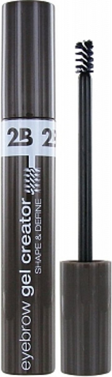 2B EYEBROW GEL CREATOR SHAPE&DEFINE 02 DARK BROWN