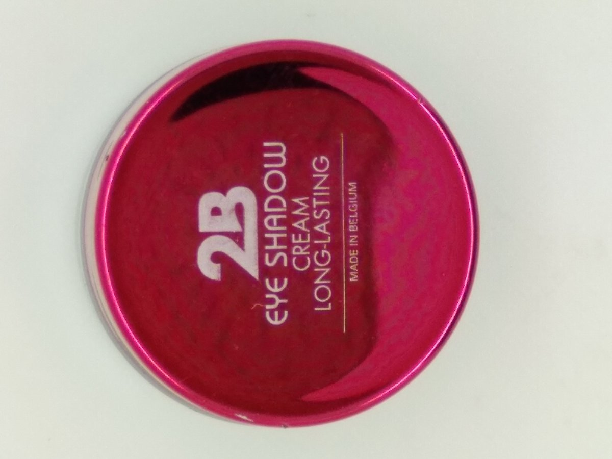 2B Eye Shadow cream Long Lasting  0% paraben 02 deep orange