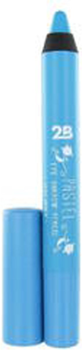 2B Eyeshadow pencil pastel Silky smooth  03 Turquoise