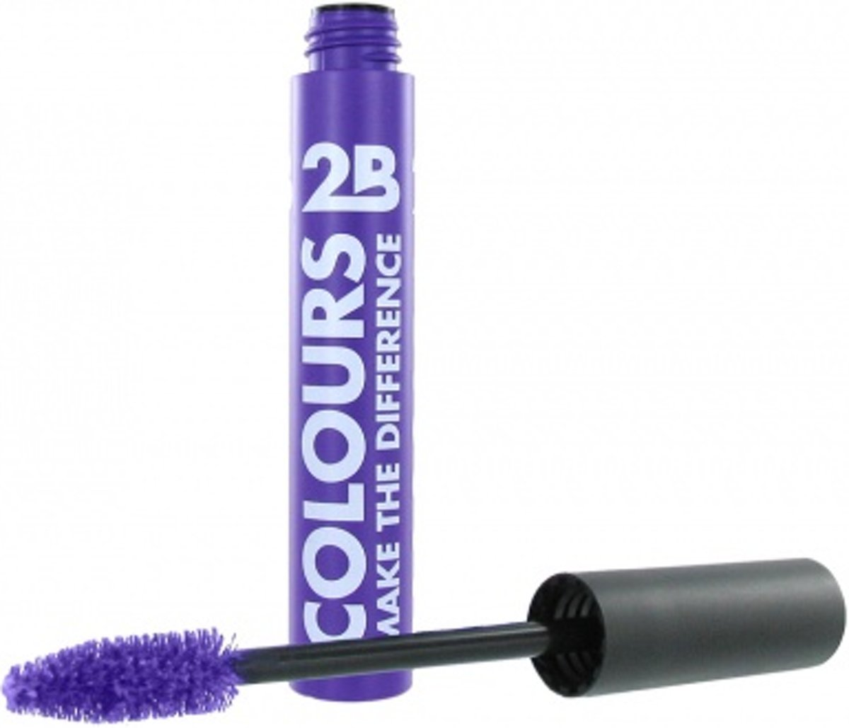 2B-Mascara colours make the difference mega violet