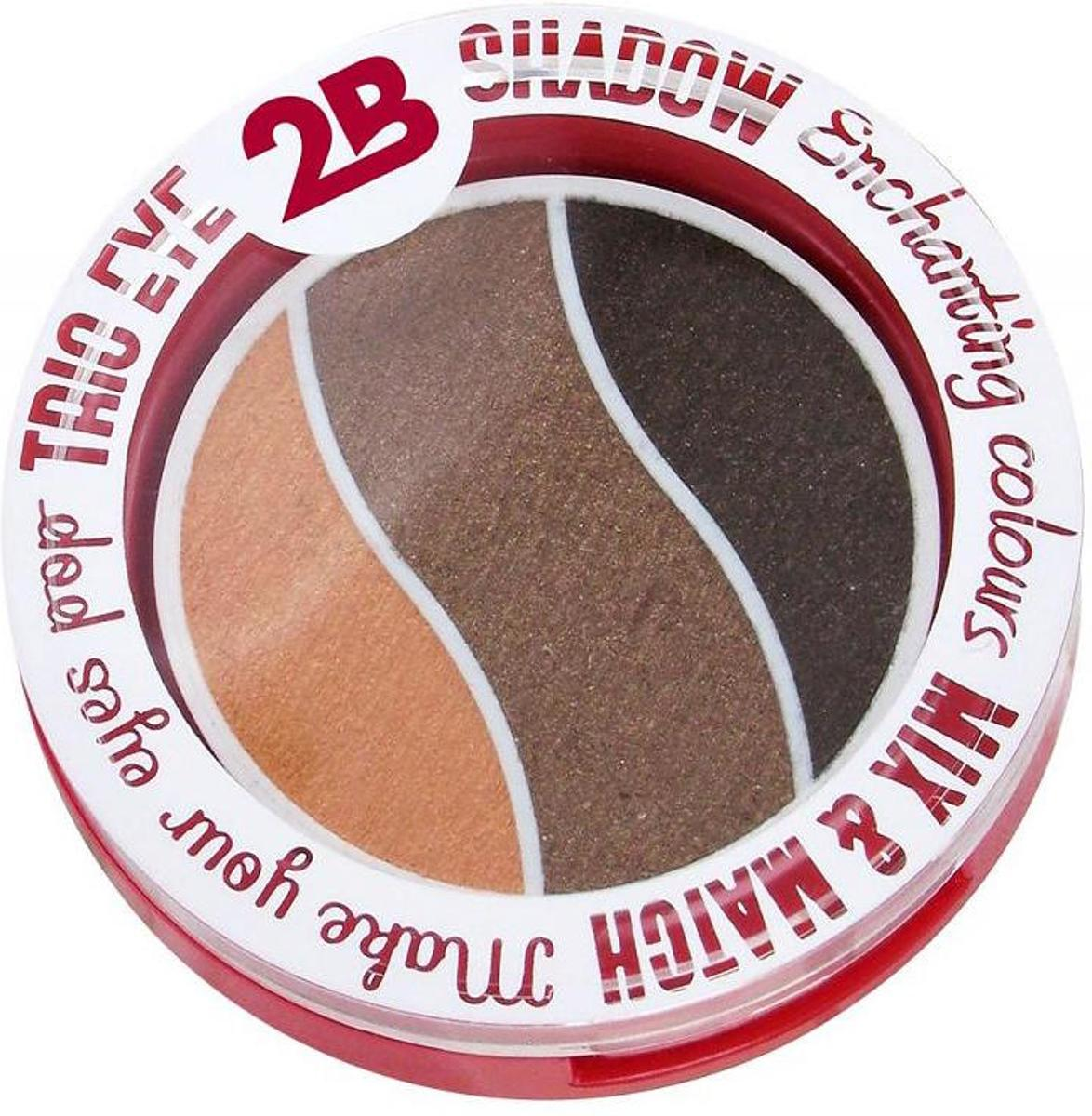 2B-Trio eye shadow Enchanting colours 02 orange/brown