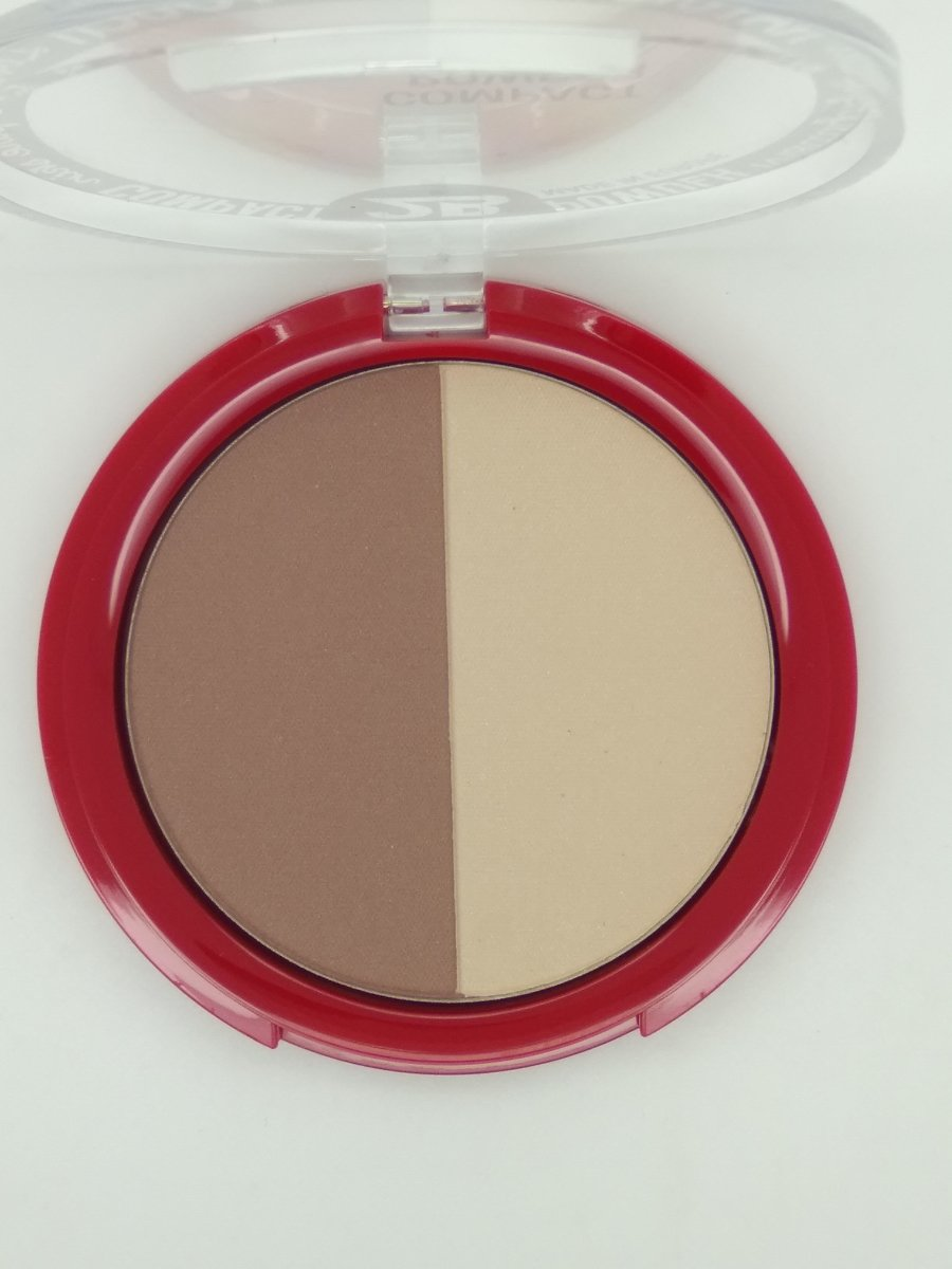 2B-powder glow duo bronzing & highlighting 01 gold