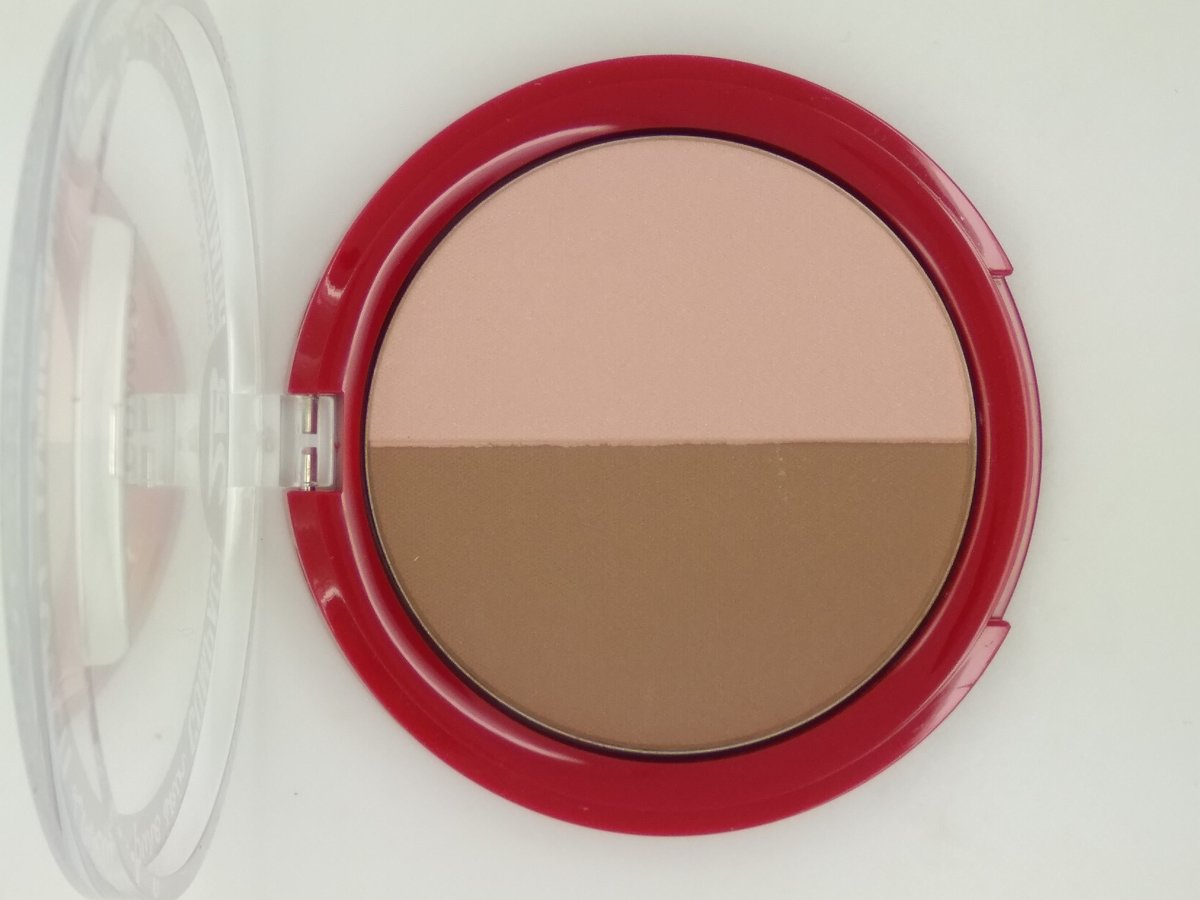 2B-powder glow duo bronzing & highlighting 02 rose