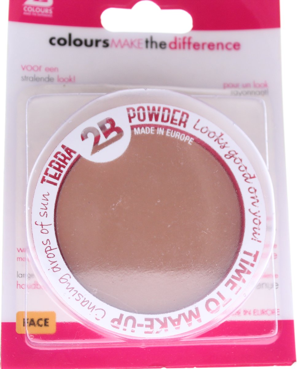 2BTerra Powder time to make-up 03   10,5 g