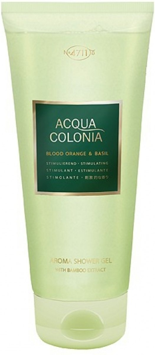 4711 A.C. Blood Orange & Basil Shower Gel 200 ml