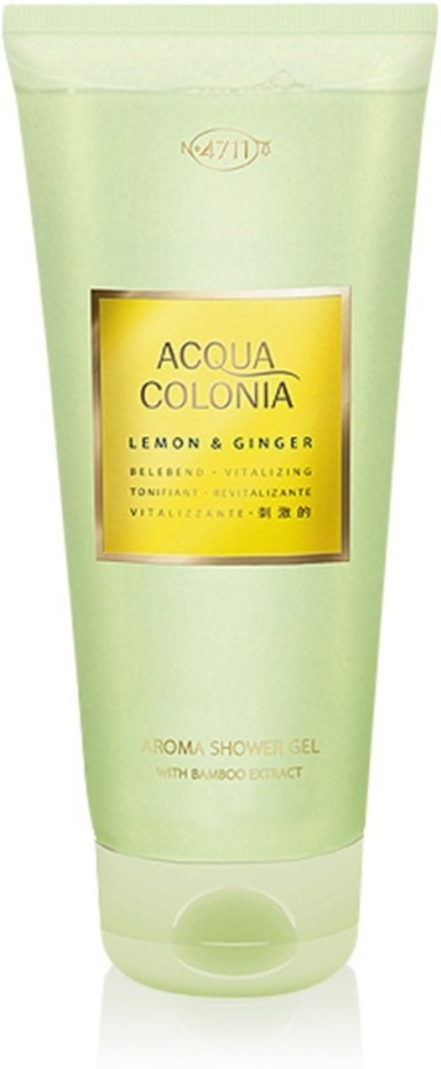 4711 A.C. Lemon & Ginger Shower Gel 200 ml
