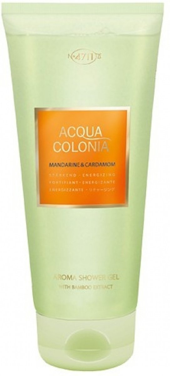 4711 A.C. Mandarine & Cardamom Shower Gel 200 ml