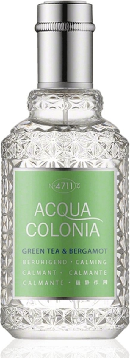4711 Acqua Colonia Green Tea & Bergamot Eau de Cologne Spray 50 ml