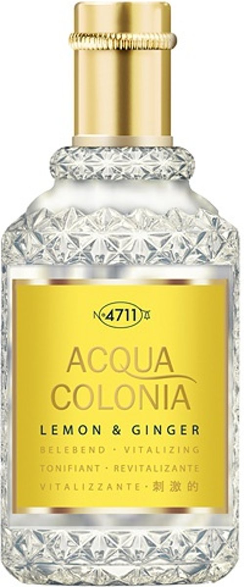 4711 Acqua Colonia Lemon & Ginger Edc Spray 50 ml