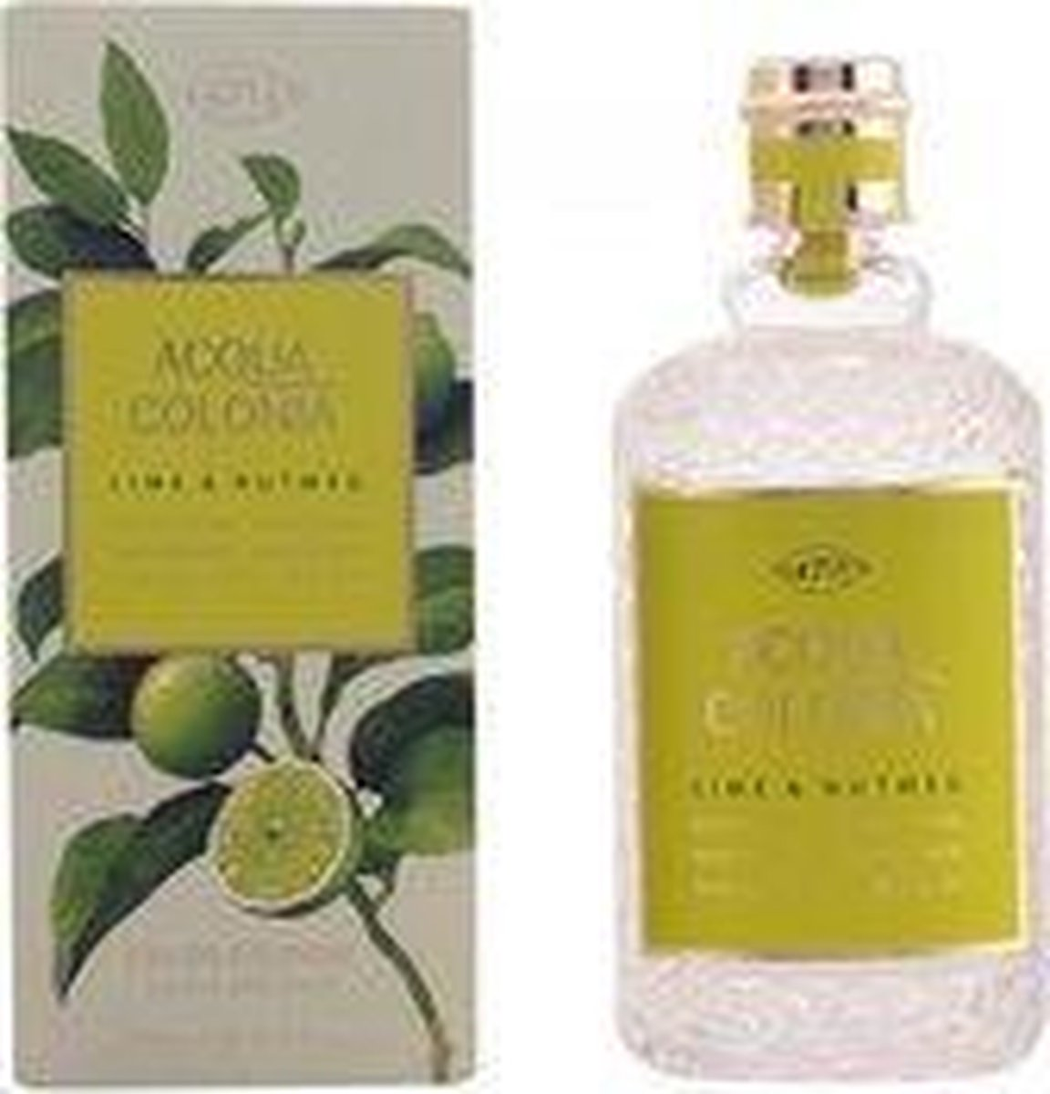 4711 Acqua Colonia Lime & Nutmeg - 50 ml - eau de cologne spray - unisex parfum