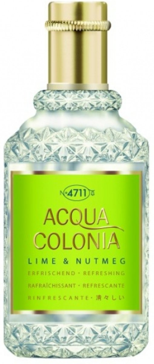 4711 Acqua Colonia Lime & Nutmeg Edc Spray 50 ml