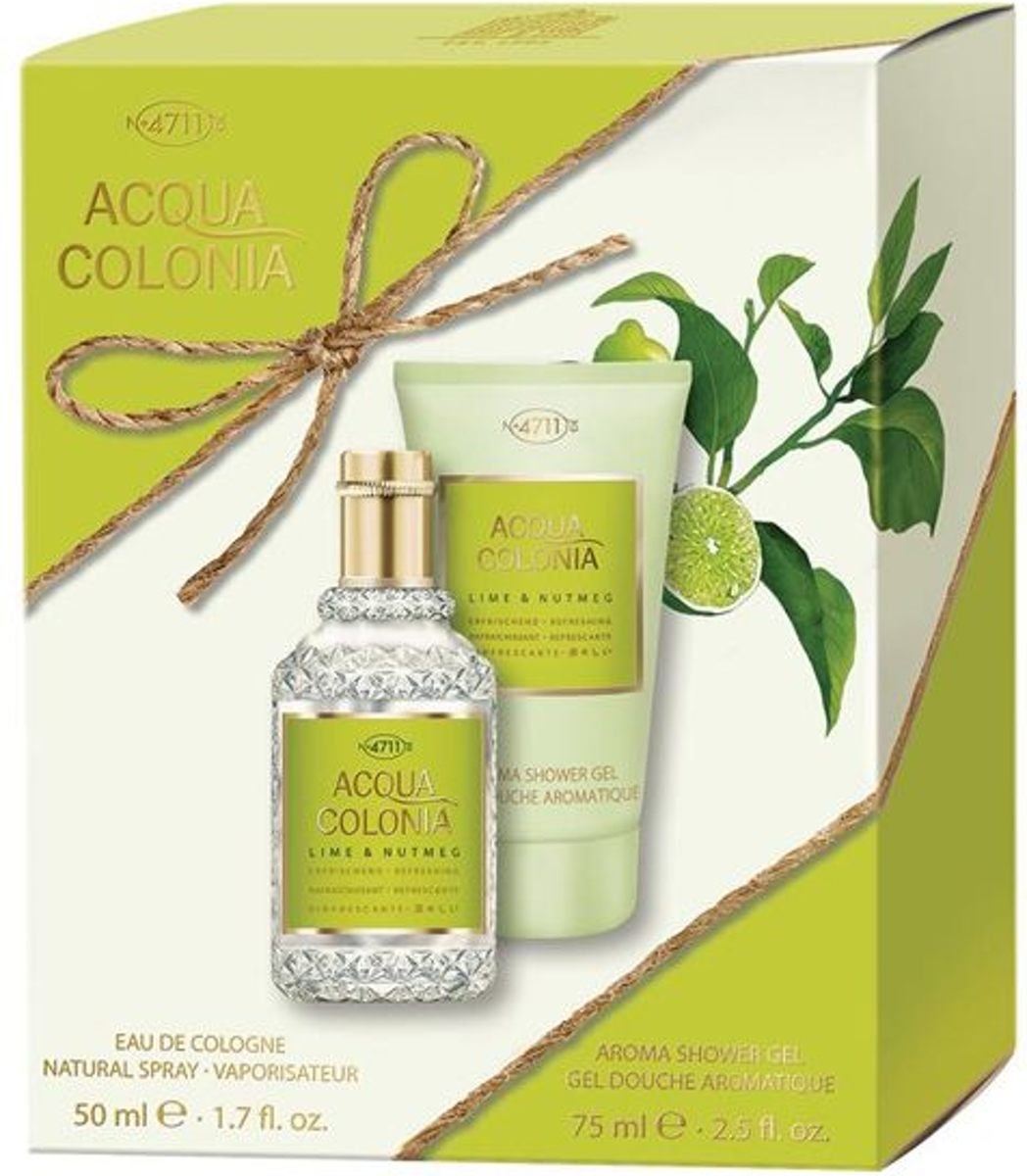 4711 Acqua Colonia Lime & Nutmeg Gift set 2 st.