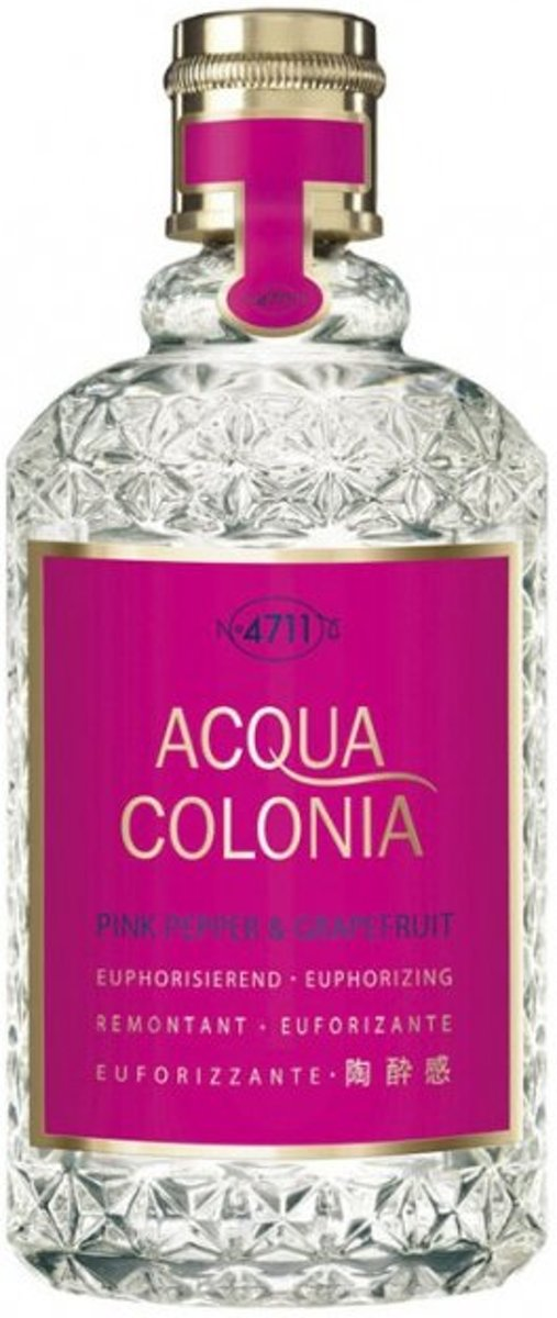 4711 Acqua Colonia Pink Pepper & Grapefruit - 50 ml - Eau de Cologne Natural Spray