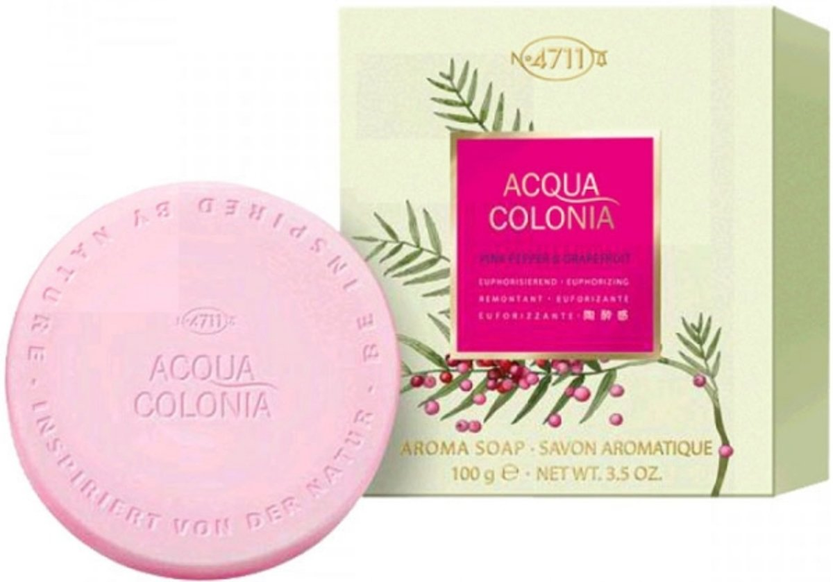 4711 Acqua Colonia Pink Pepper Grapefruit Zeep 100 gr