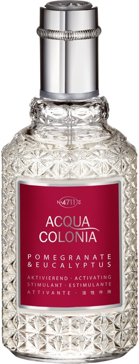 4711 Acqua Colonia Pomegranate & Eucalyptus Eau de cologne spray 50 ml