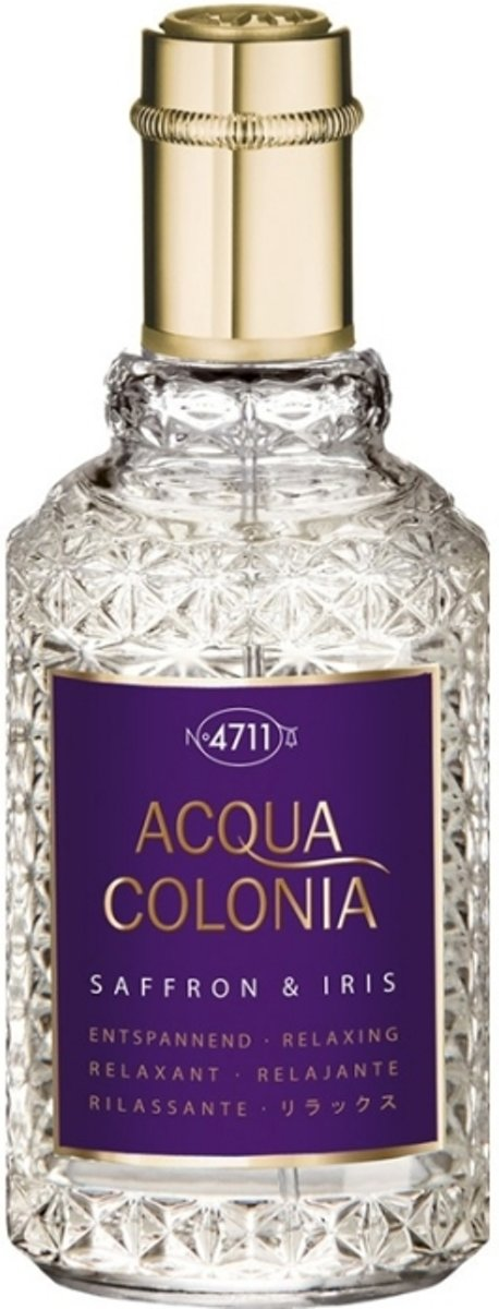4711 Acqua Colonia Saffron & Iris Eau de Cologne Spray 50 ml