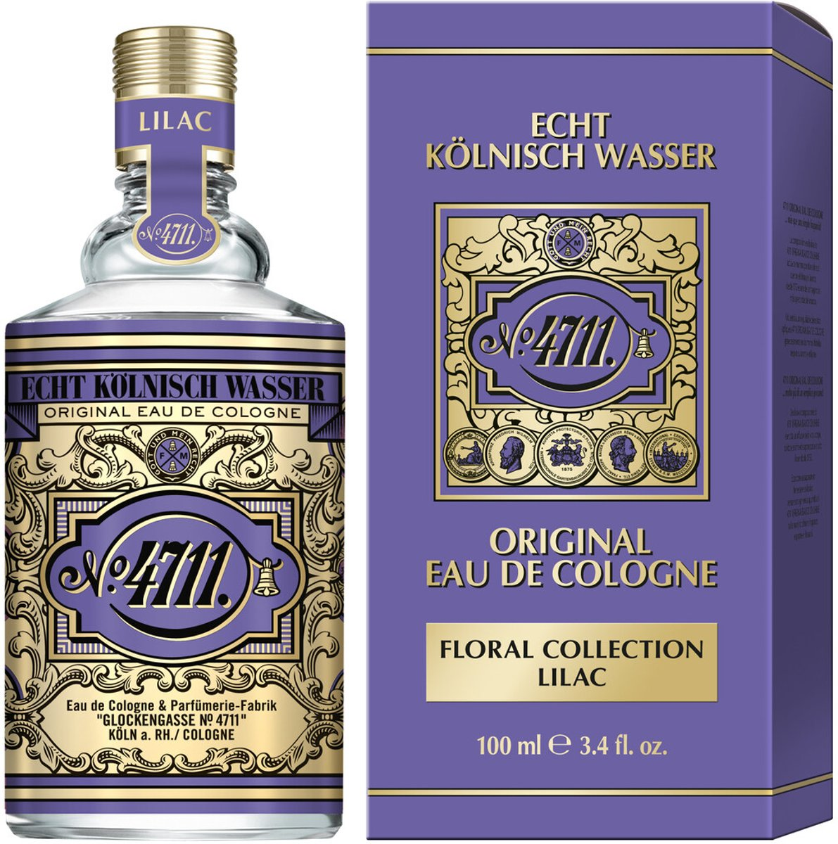 4711 Floral Collection Lilac (sering) eau de cologne 100 ml