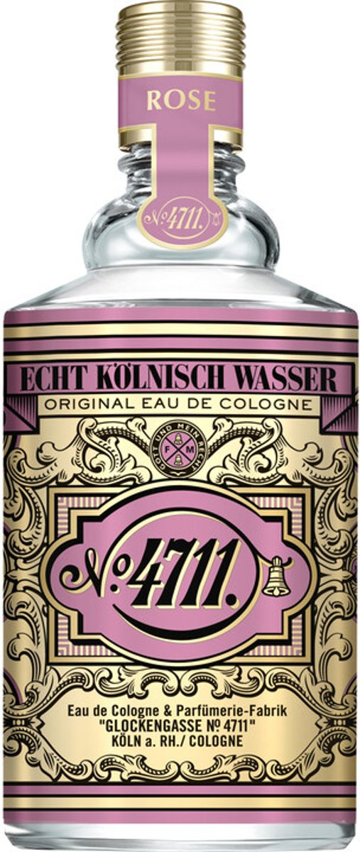 4711 Floral Collection Rose eau de cologne 100 ml