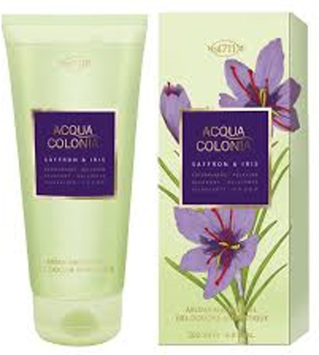 Acqua Colonia Saffron & Iris Showergel