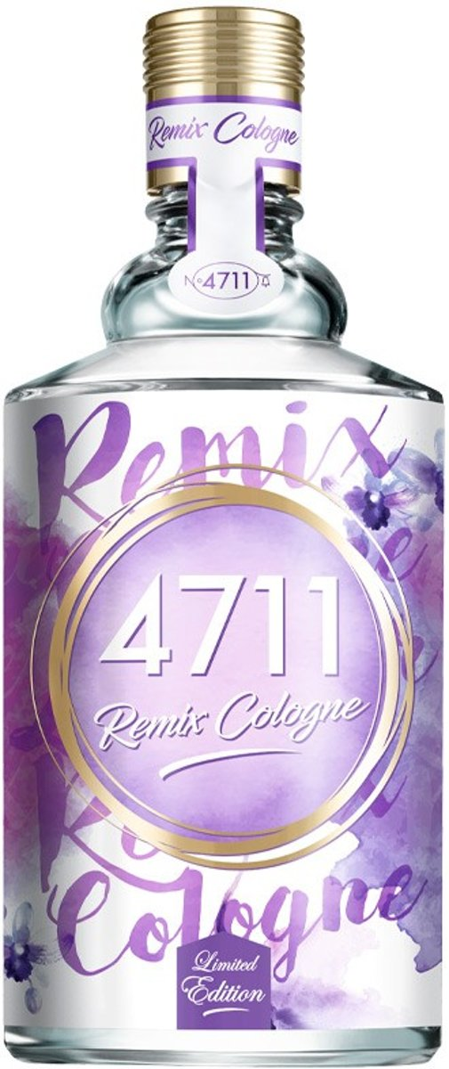 MULTI BUNDEL 2 stuks 4711 REMIX COLOGNE LAVENDER eau de cologne spray 100 ml