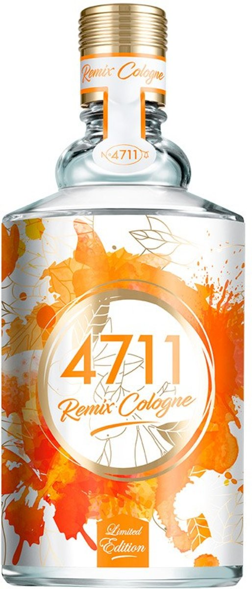 MULTI BUNDEL 2 stuks 4711 REMIX COLOGNE ORANGE eau de cologne spray 100 ml