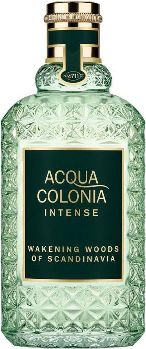 MULTI BUNDEL 2 stuks ACQUA colonia INTENSE WAKENING WOODS OF SCANDINAVIA eau de cologne 170 ml