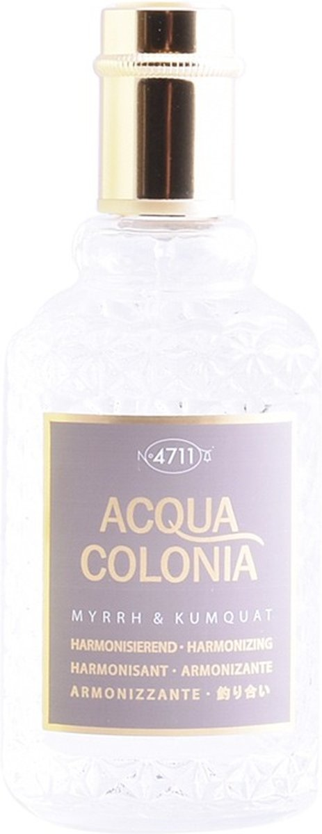 MULTI BUNDEL 2 stuks ACQUA colonia MYRRH & KUMQUAT eau de cologne spray 50 ml