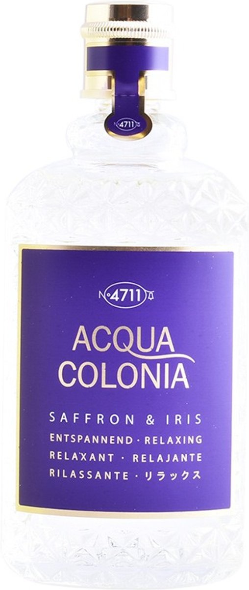 MULTI BUNDEL 2 stuks ACQUA colonia SAFFRON & IRIS eau de cologne spray 170 ml