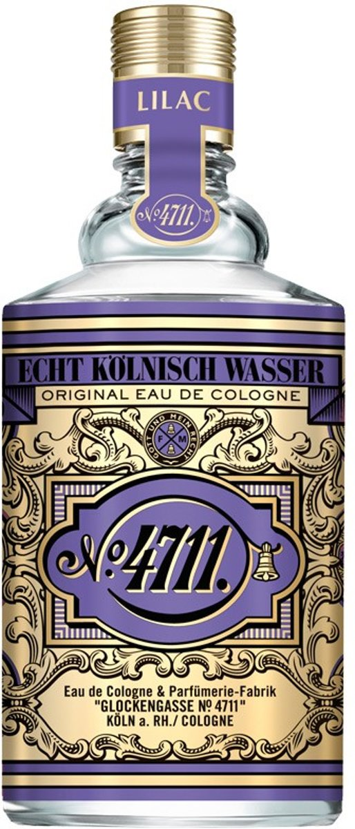 MULTI BUNDEL 2 stuks FLORAL COLLECTION LILAC eau de cologne spray 100 ml