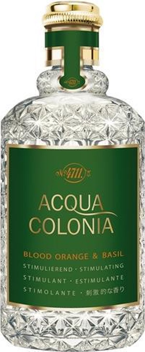 MULTI BUNDEL 3 stuks 4711 Acqua Colonia Blood Orange And Basil Eau De Cologne Spray 170ml