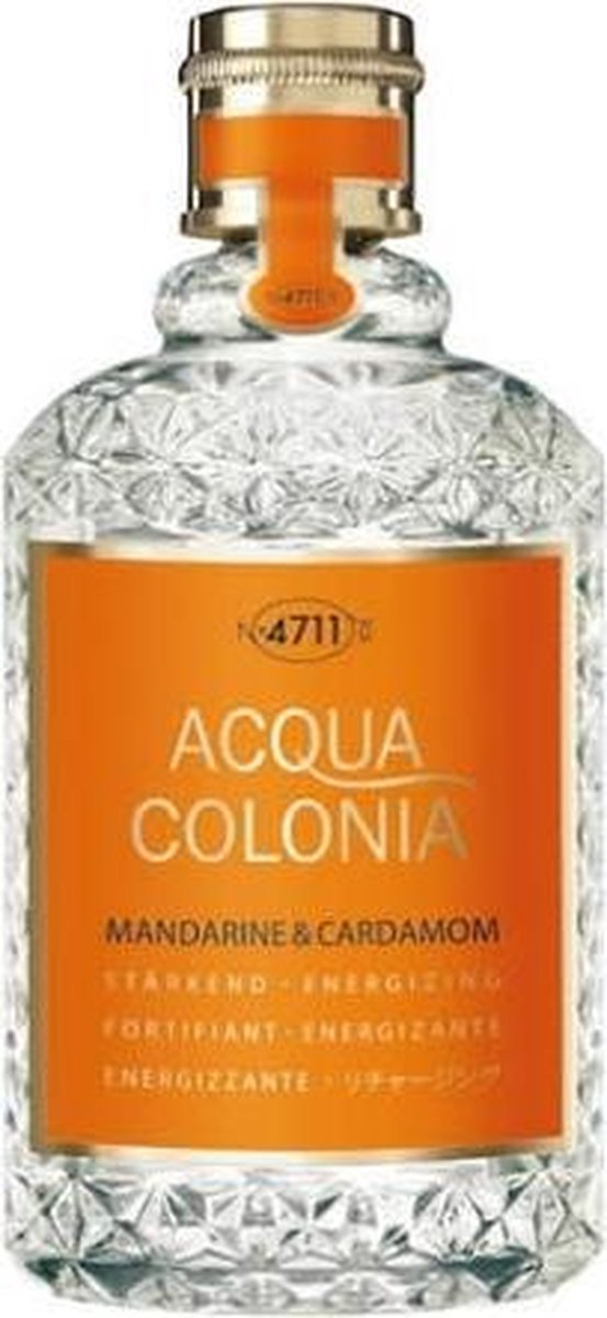 MULTI BUNDEL 3 stuks 4711 Acqua Colonia Mandarine And Cardamom Eau De Cologne Spray 170ml