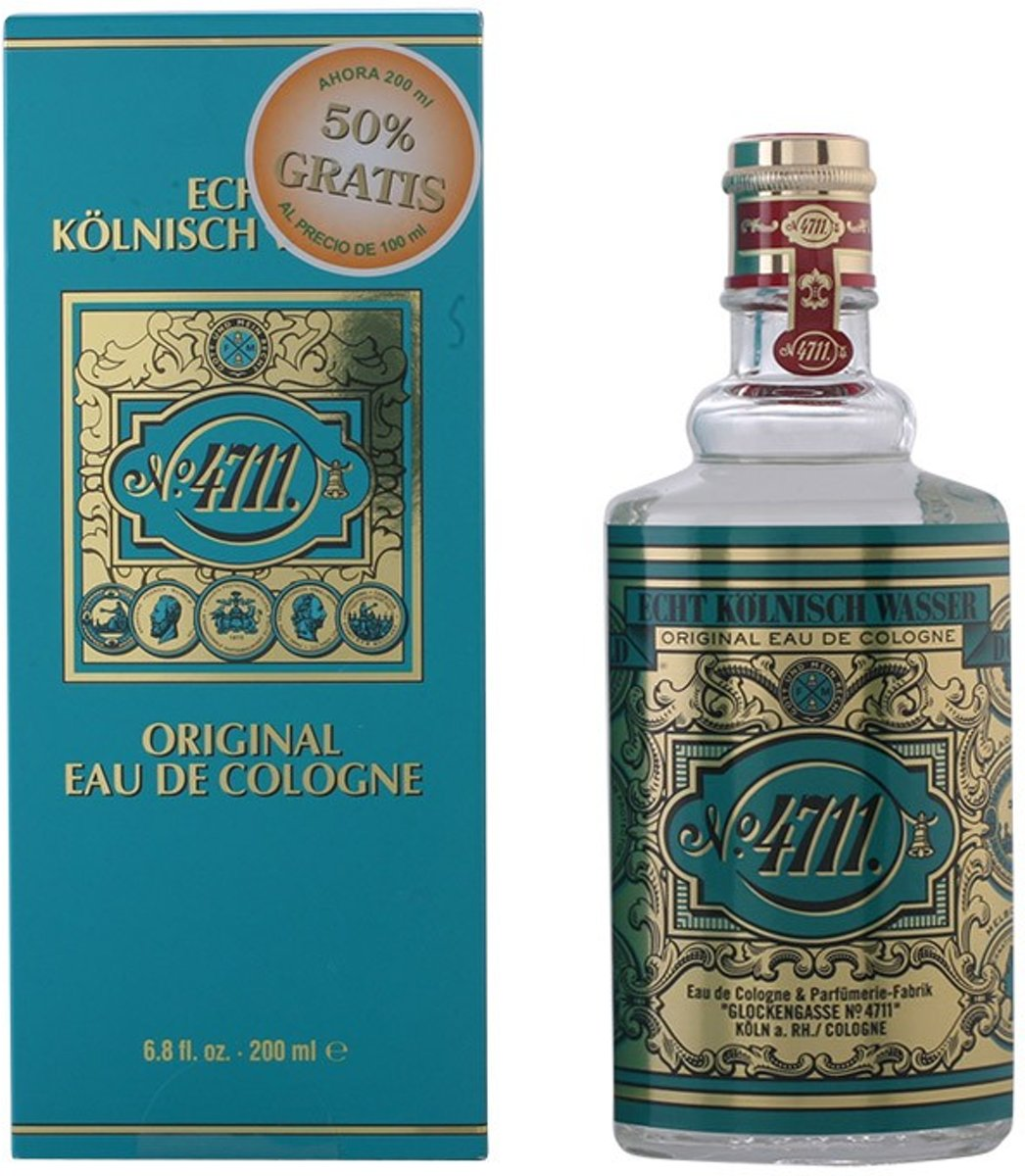 MULTI BUNDEL 3 stuks 4711 Eau de Cologne flacon 200 ml