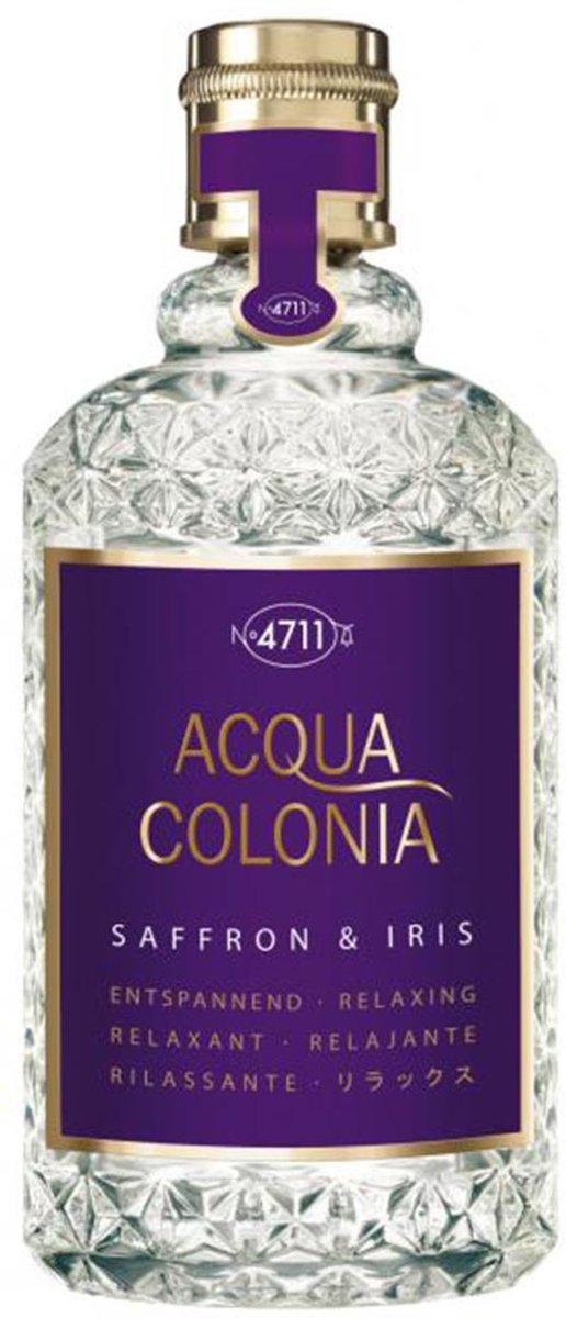 MULTI BUNDEL 4 stuks 4711 Acqua Colonia Lavender And Thyme Eau De Cologne Spray 170ml