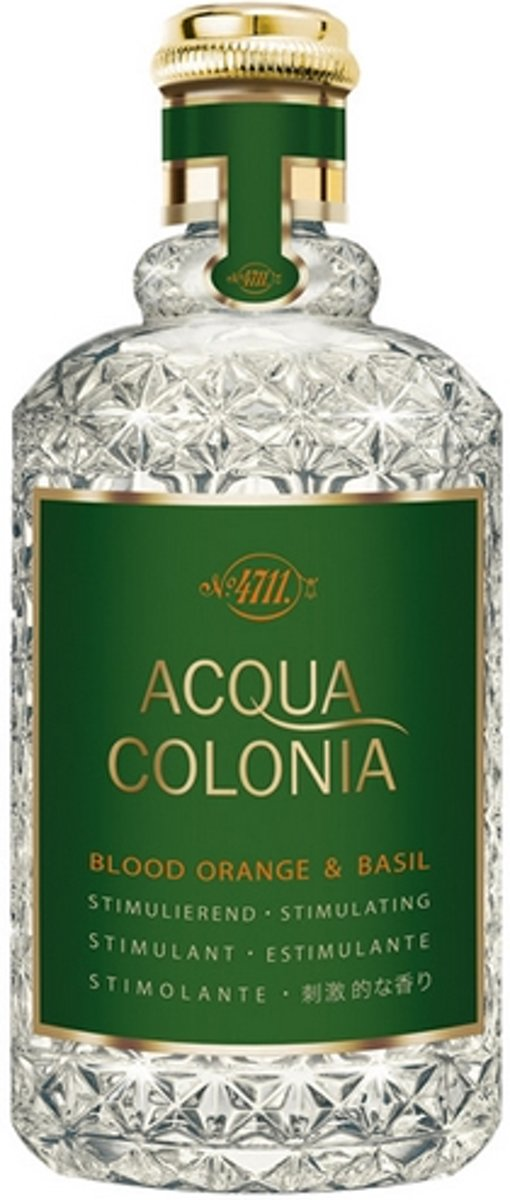 MULTIBUNDEL 4 stuks 4711 Acqua Colonia Blood Orange And Basil Eau De Cologne Spray 50ml