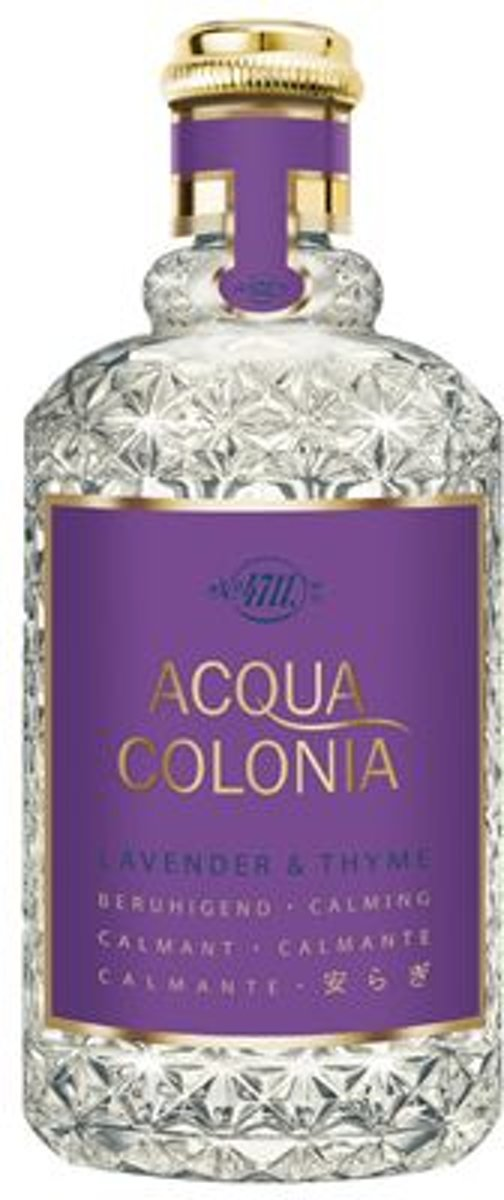 MULTIBUNDEL 4 stuks 4711 Acqua Colonia Lavender And Thyme Eau De Cologne Spray 170ml
