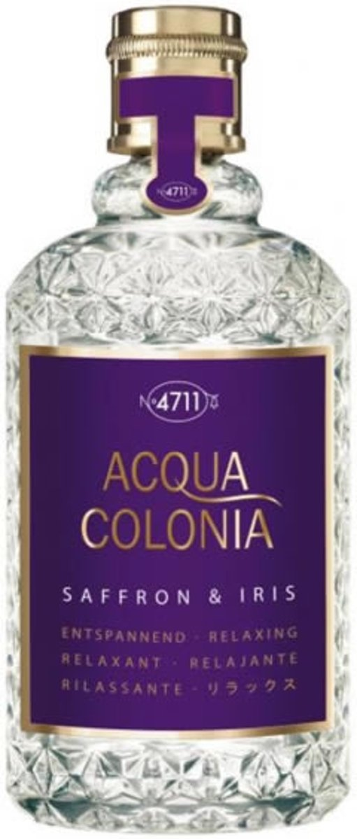 MULTIBUNDEL 4 stuks 4711 Acqua Colonia Lavender And Thyme Eau De Cologne Spray 50ml