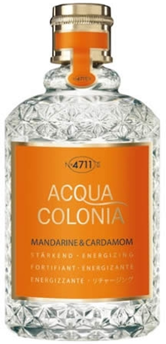 MULTIBUNDEL 4 stuks 4711 Acqua Colonia Mandarine And Cardamom Eau De Cologne Spray 50ml