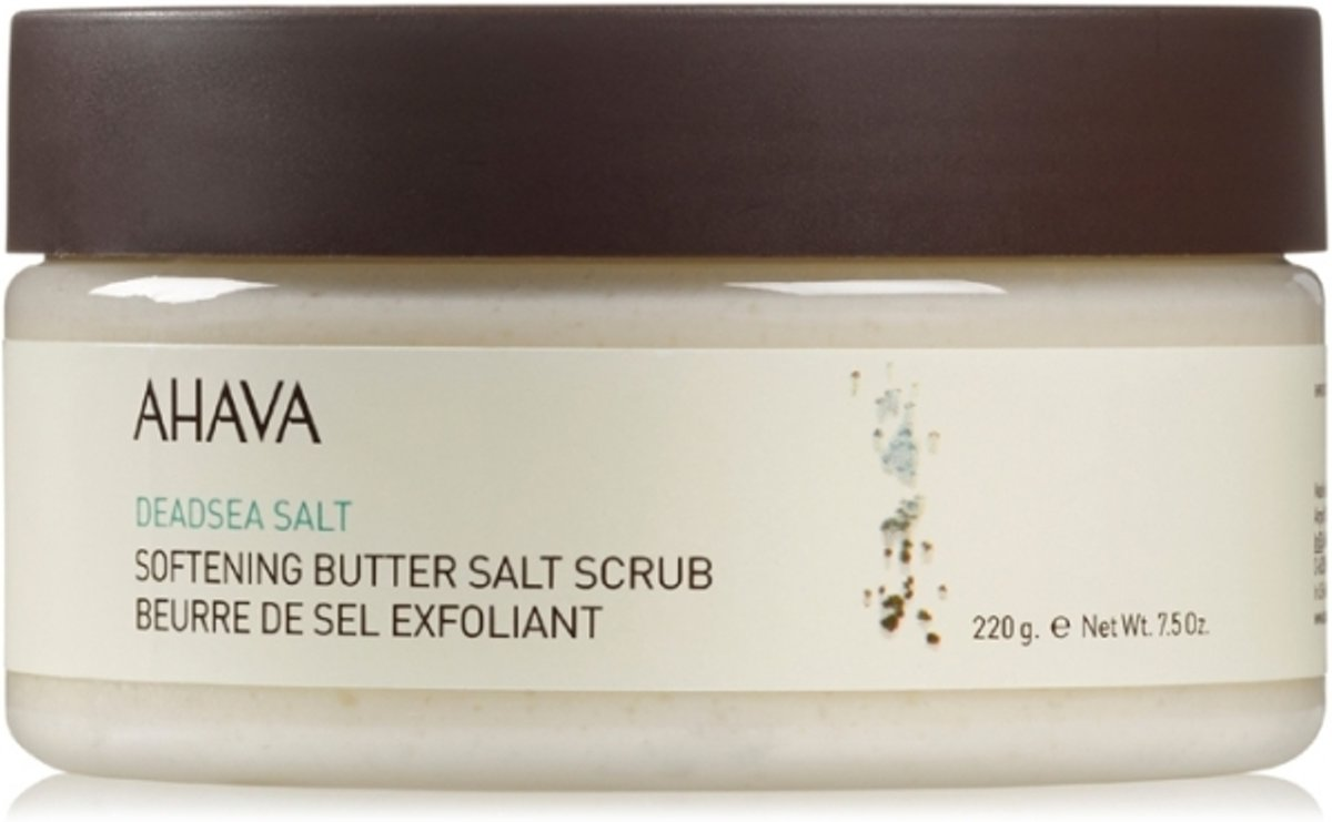 AHAVA Dead Sea Salt Softening Butter Salt Scrub Bodyscrub 220 gr.