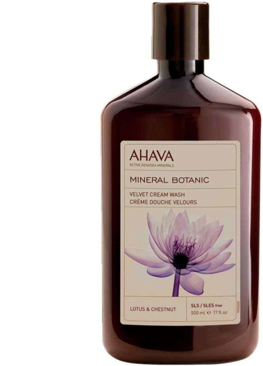 AHAVA Mineral Botanic Cream Wash Lotus & Chestnut Douchegel 500 ml