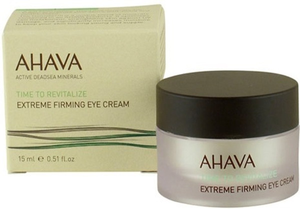 Ahava time to revitalize extreme eye cream 15 ml
