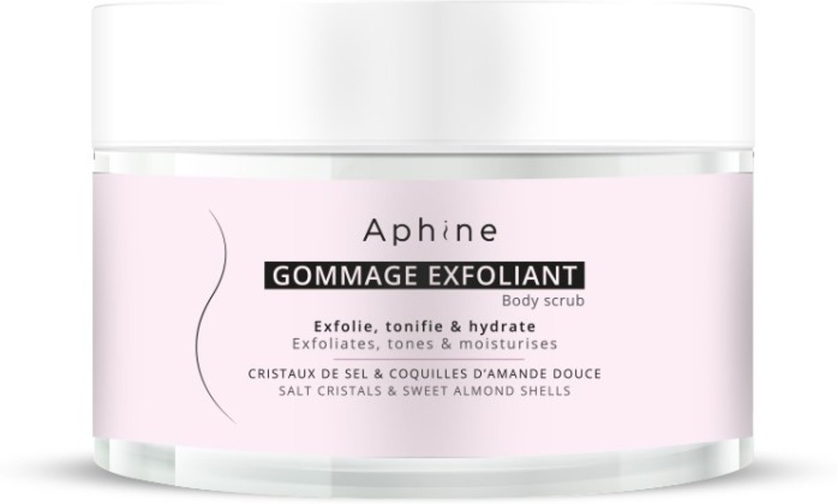 Aphine Exfoliating body scrub
