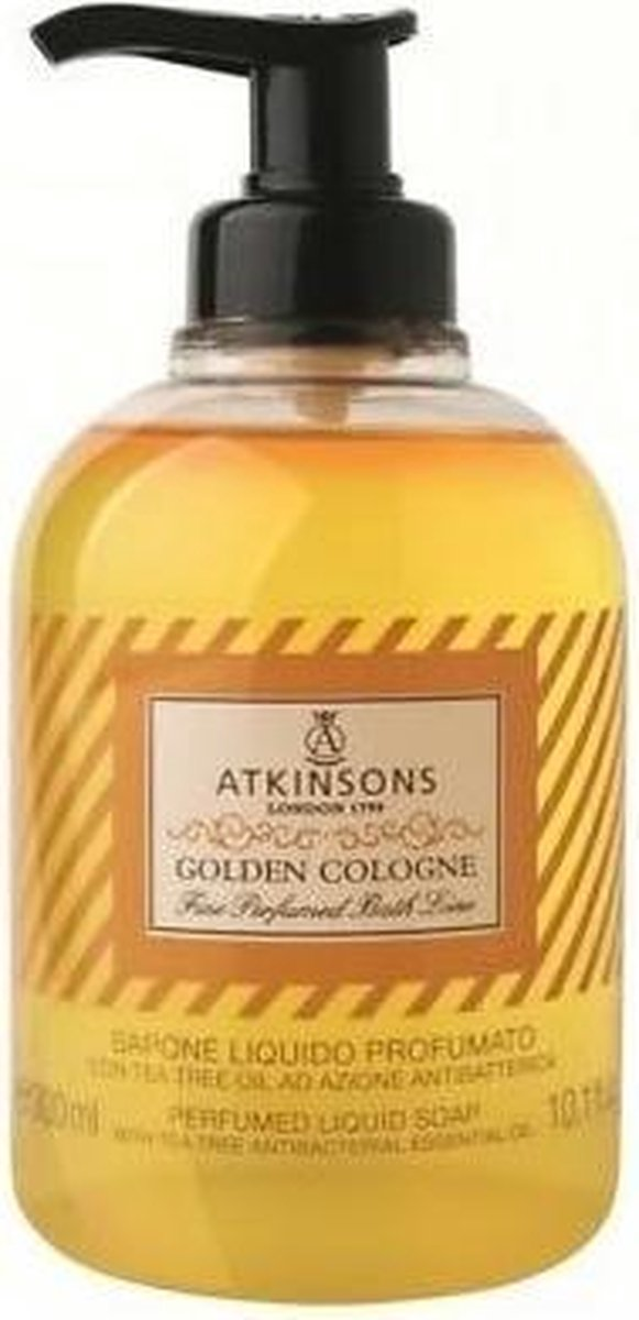 Golden Cologne Liquid Soap 300ml