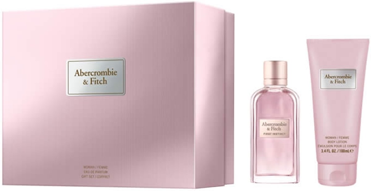 Abercrombie & Fitch Abercrombie & Fitch - Eau de parfum - First Instinct woman 100ml eau de parfum + 200ml bodylotion - Gifts ml