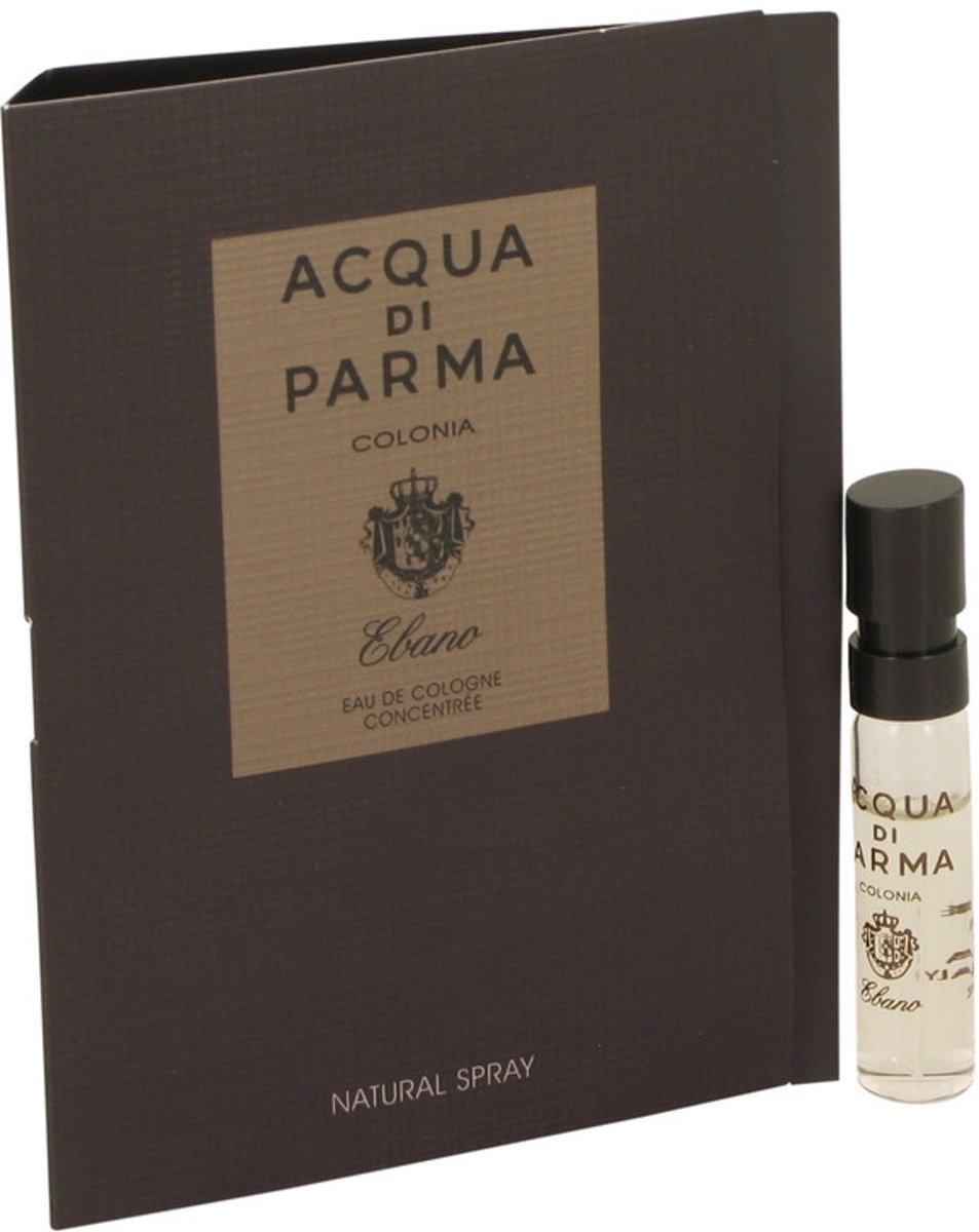 Acqua Di Parma By Acqua Di Parma Colonia Ebano Eau De Cologne Vial - Fragrances For Men